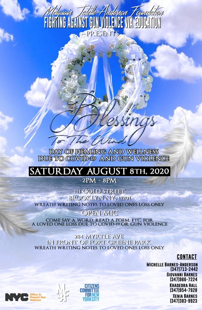 blessing flyer